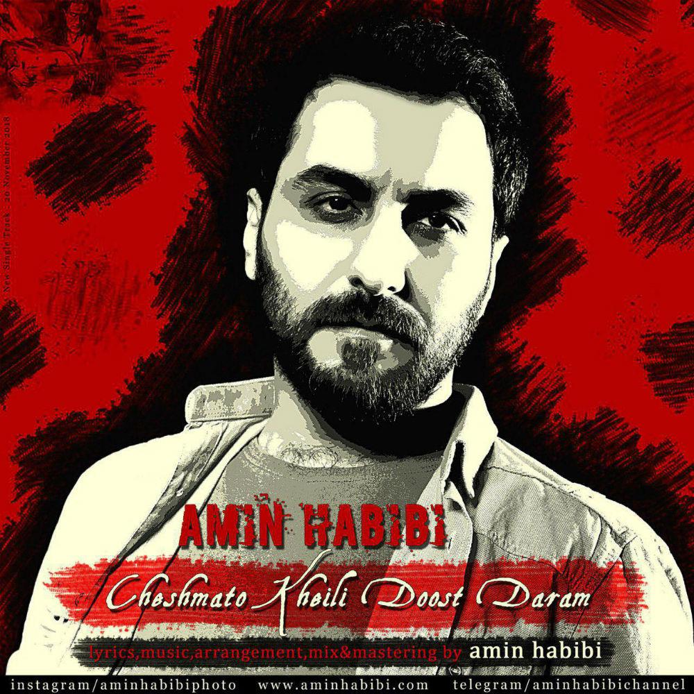 Amin Habibi - Cheshmato kheili Doost Daram Music | آهنگ امین حبیبی - چشماتو خیلی دوست دارم