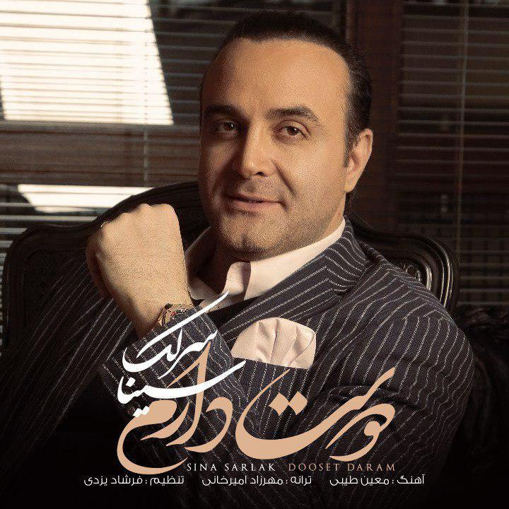 Sina Sarlak - Dooset Daram Music | آهنگ سینا سرلک - دوست دارم